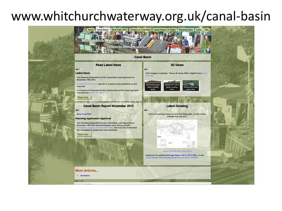 www.whitchurchwaterway.org.uk/canal-basin