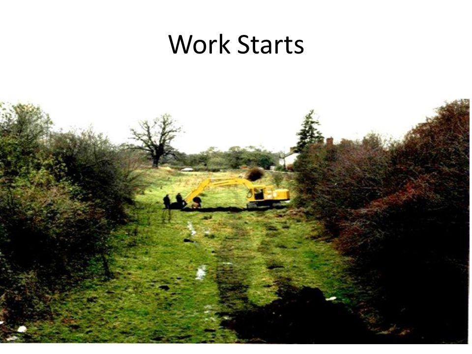Work Starts