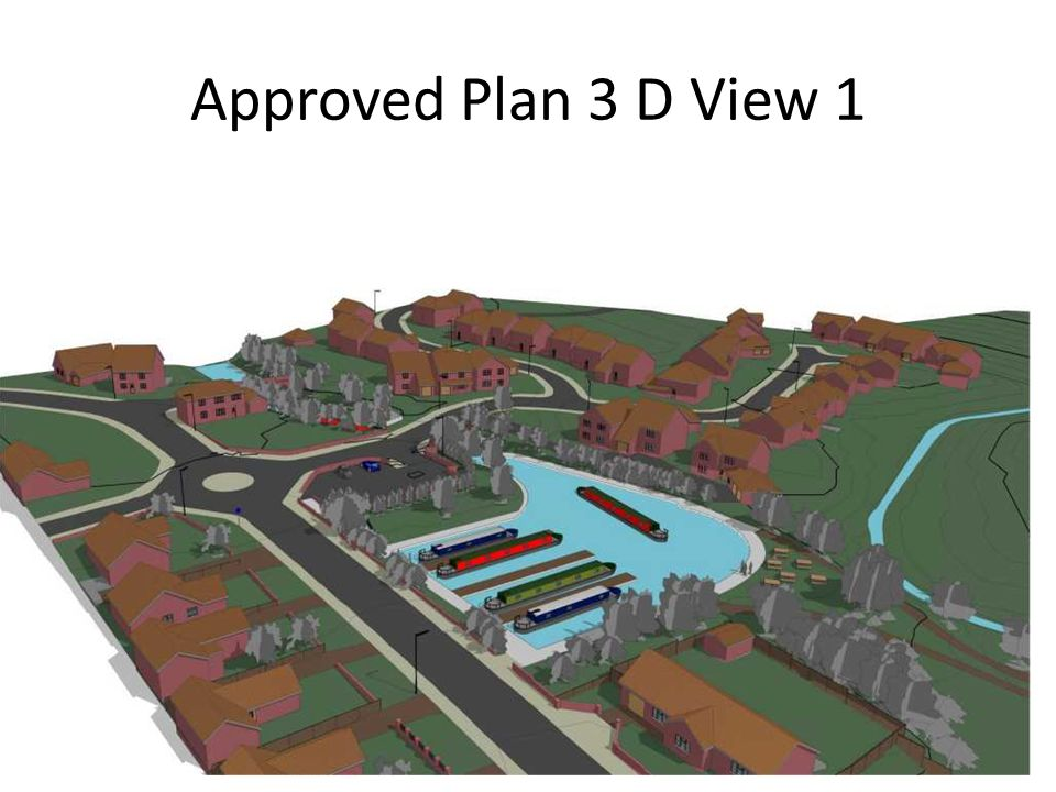 Approved Plan 3 D View 1