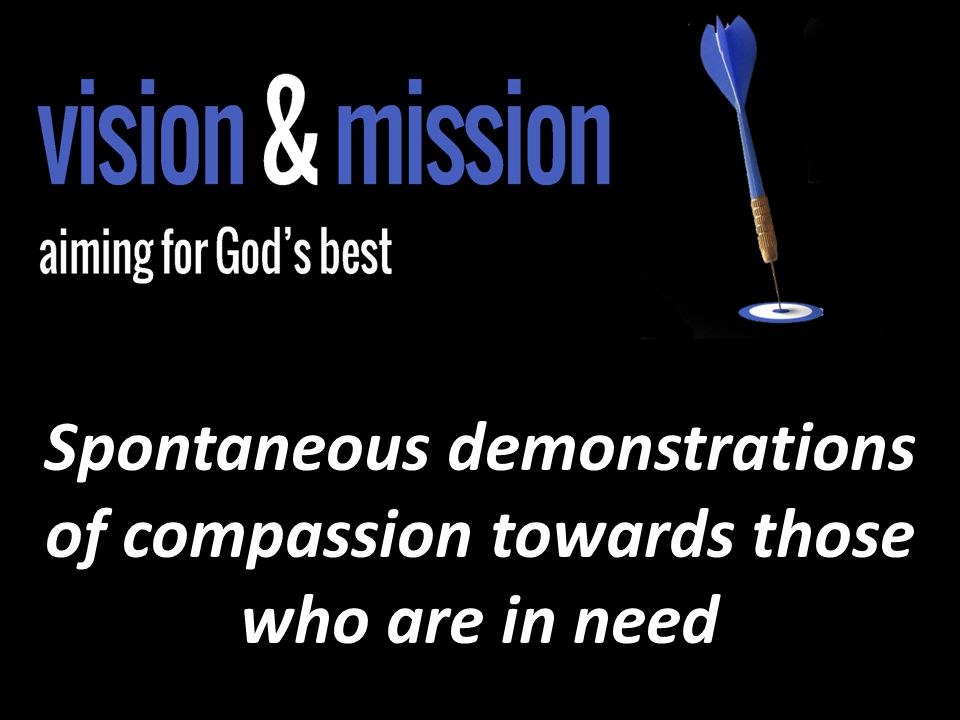 Spontaneous demonstrations of compassion towards those who are in need