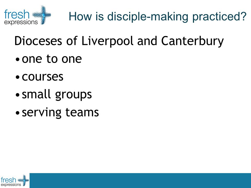 How is disciple-making practiced.