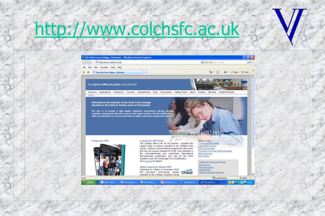 http://www.colchsfc.ac.uk