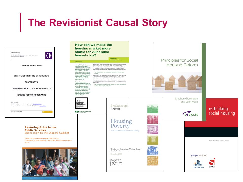 The Revisionist Causal Story