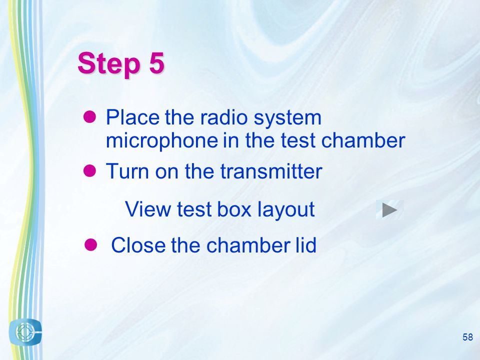 57 Step 4 Taking care to not alter the hearing aid user settings, remove the hearing aid and coupler from the chamber Always place the metal coupler on something soft so it does not pick up 'vibrations'