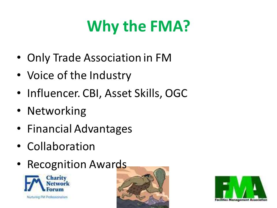 Why the FMA. Only Trade Association in FM Voice of the Industry Influencer.