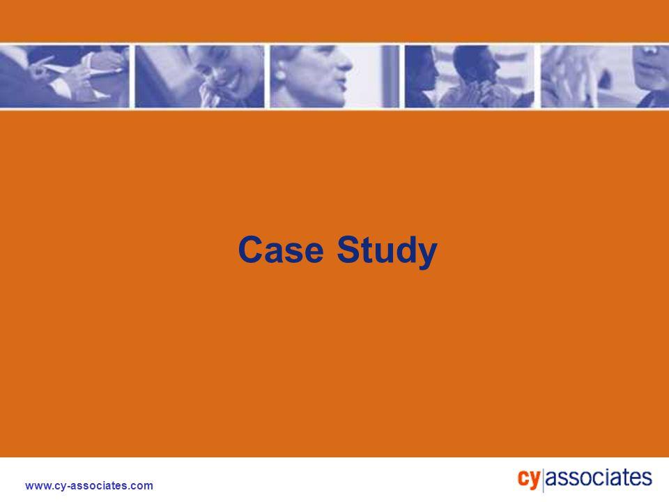 www.cy-associates.com Case Study