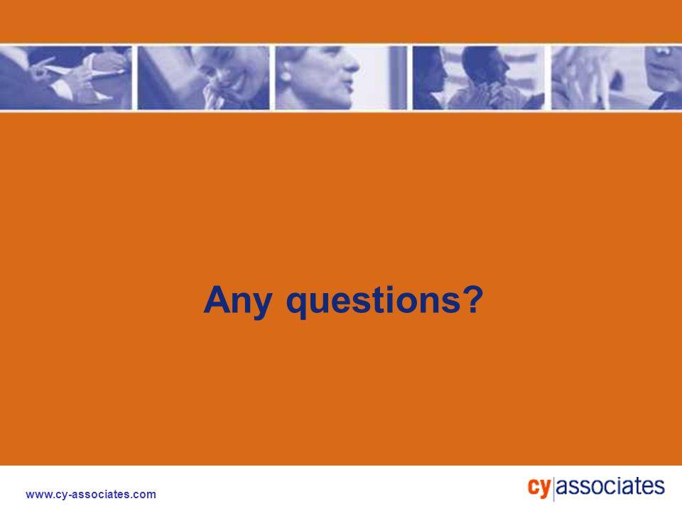 www.cy-associates.com Any questions?