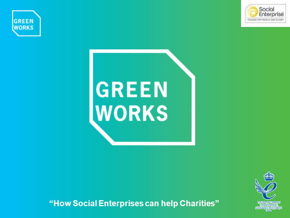 How Social Enterprises can help Charities