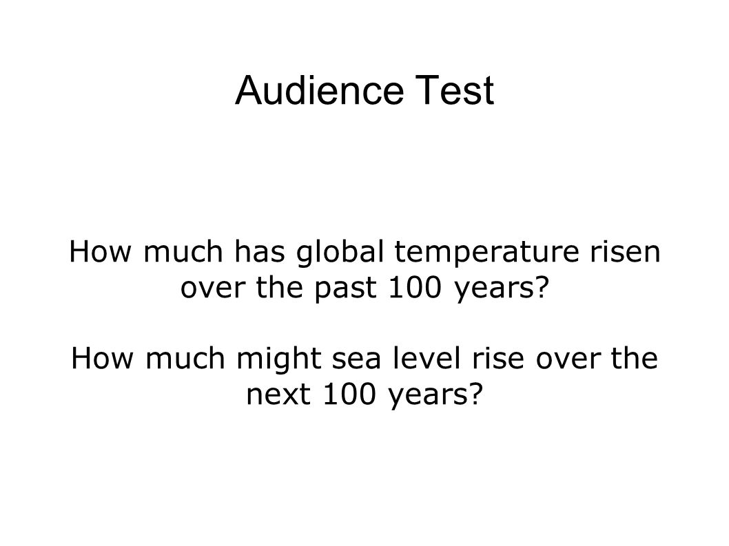 (1) Global Warming is happening... http://en.wikipedia.org/wiki/Image:GIS_Global_1880_2005.gif