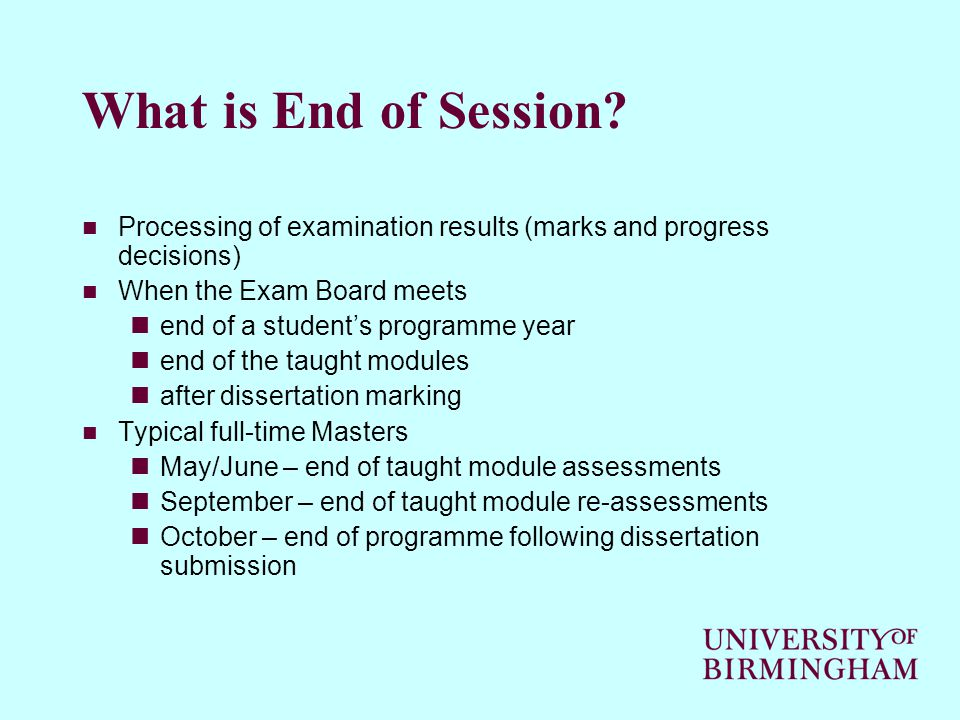 ART B - Successful Completion (2) WHAT DOES IT DO Changes their status to Leaver Gives them a leaving date and reason for leaving (Successful Completion) Changes their Degree status to Completed so that they can graduate/receive certificate Auto-calculates in BIRMS