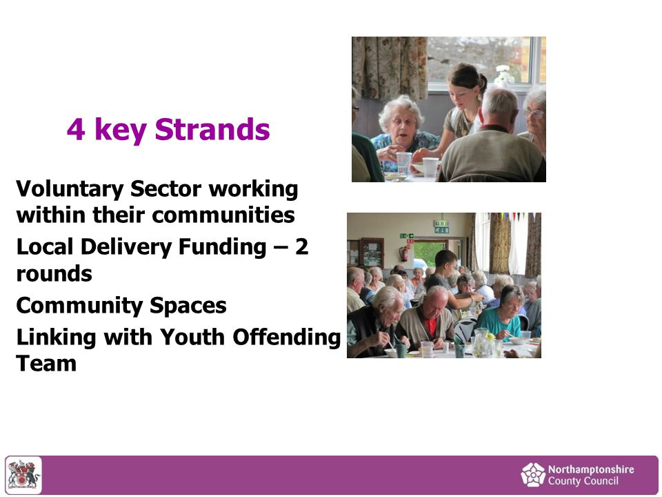 Challenges Working with our partners Working with young people -Contacting Schools -Using ESCOs Working with older people CRB Checks – the changing picture