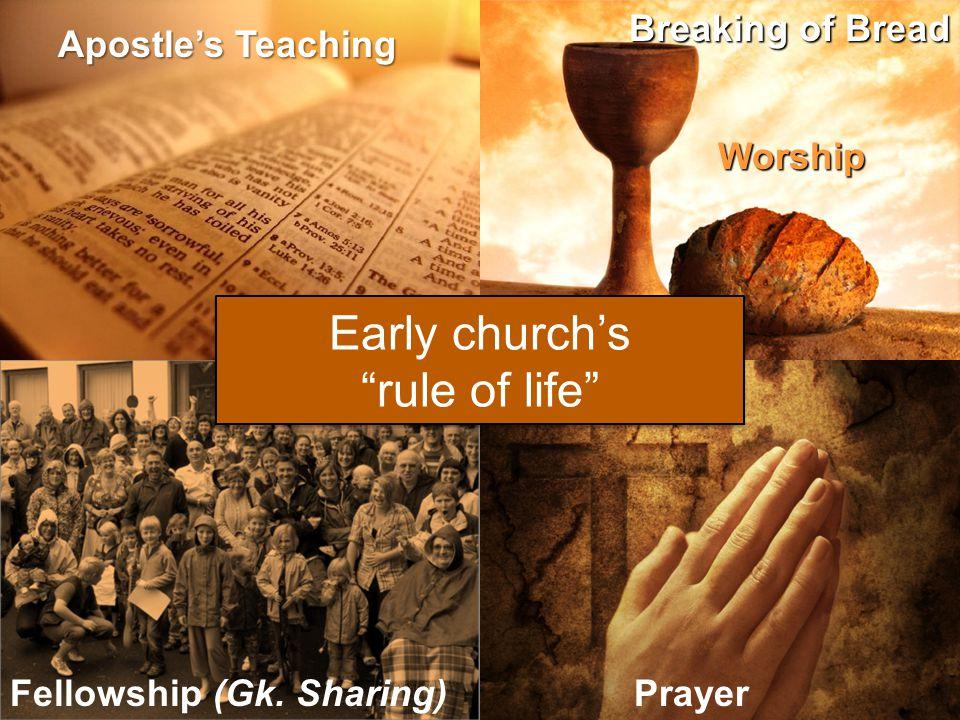 Apostle's Teaching Worship Fellowship (Gk.