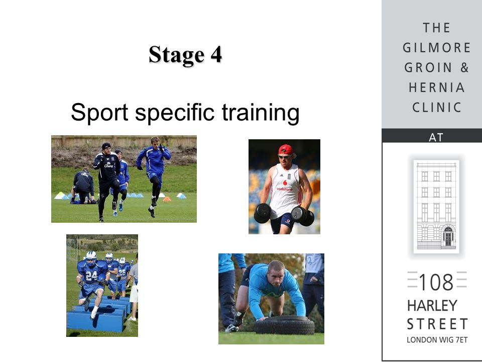 Stage 4 Sport specific training
