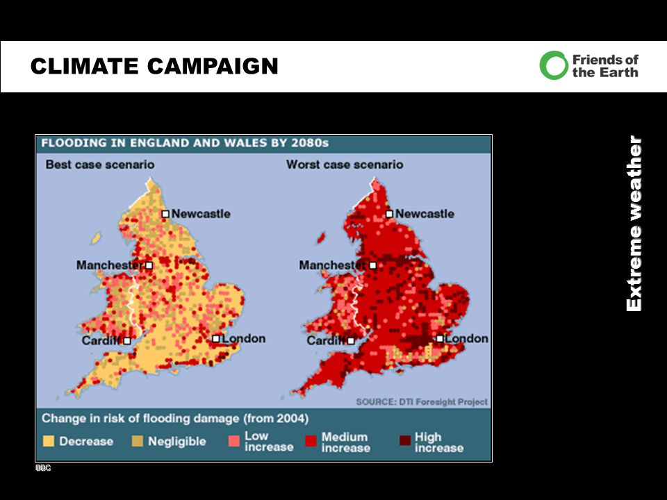 Extreme weather CLIMATE CAMPAIGN BBC