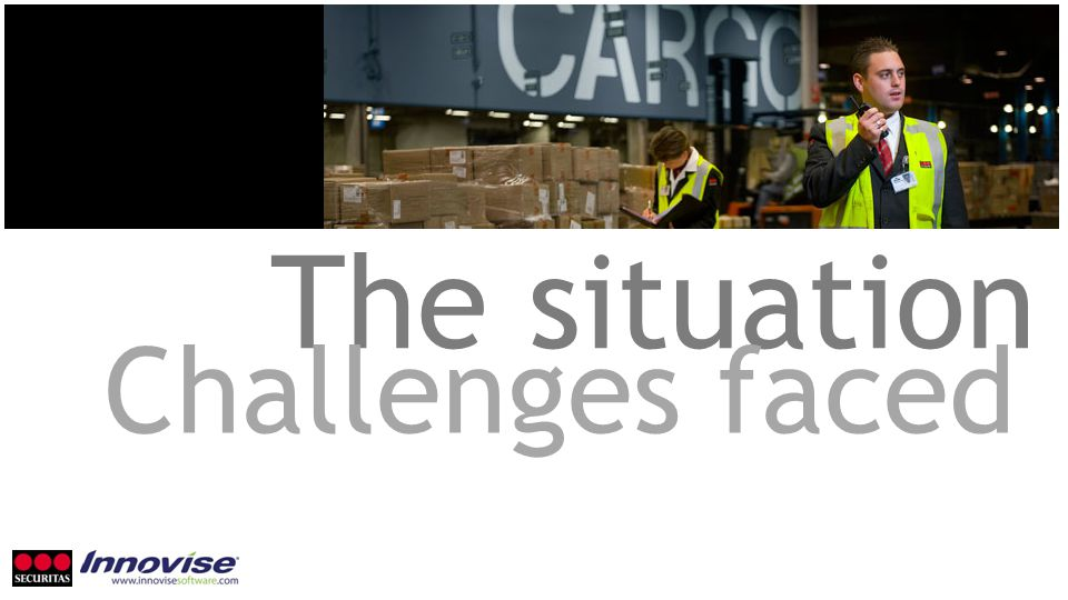 The situation Challenges faced