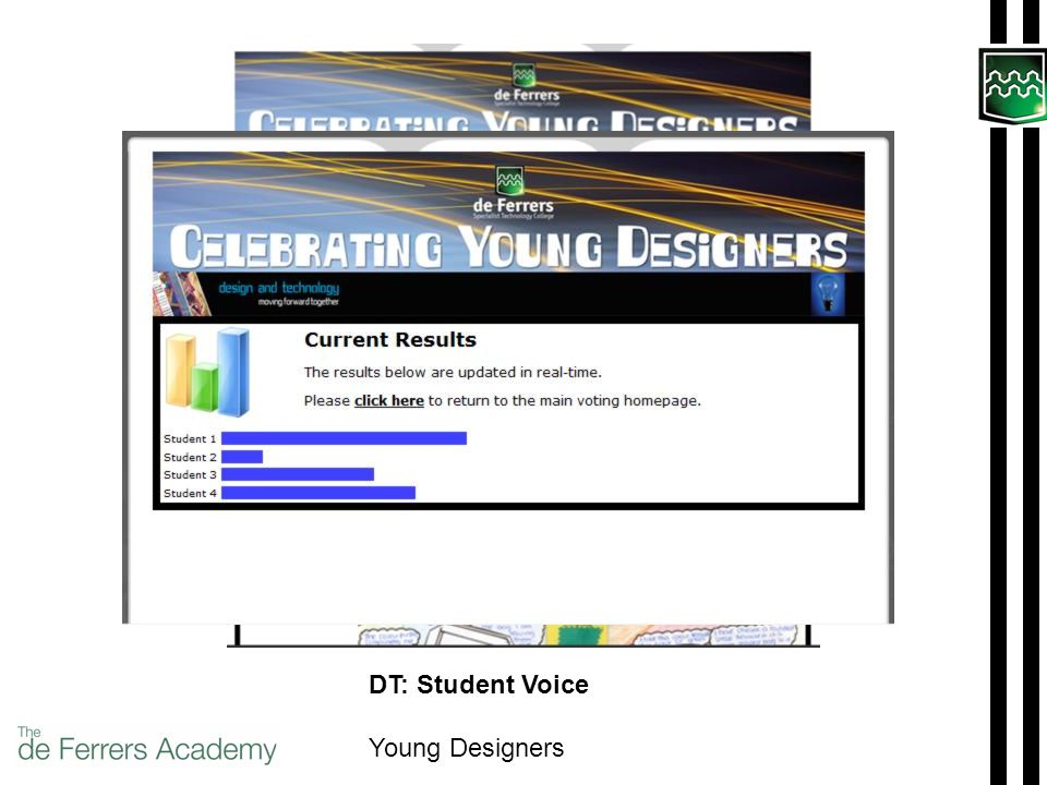 DT: Student Voice Young Designers