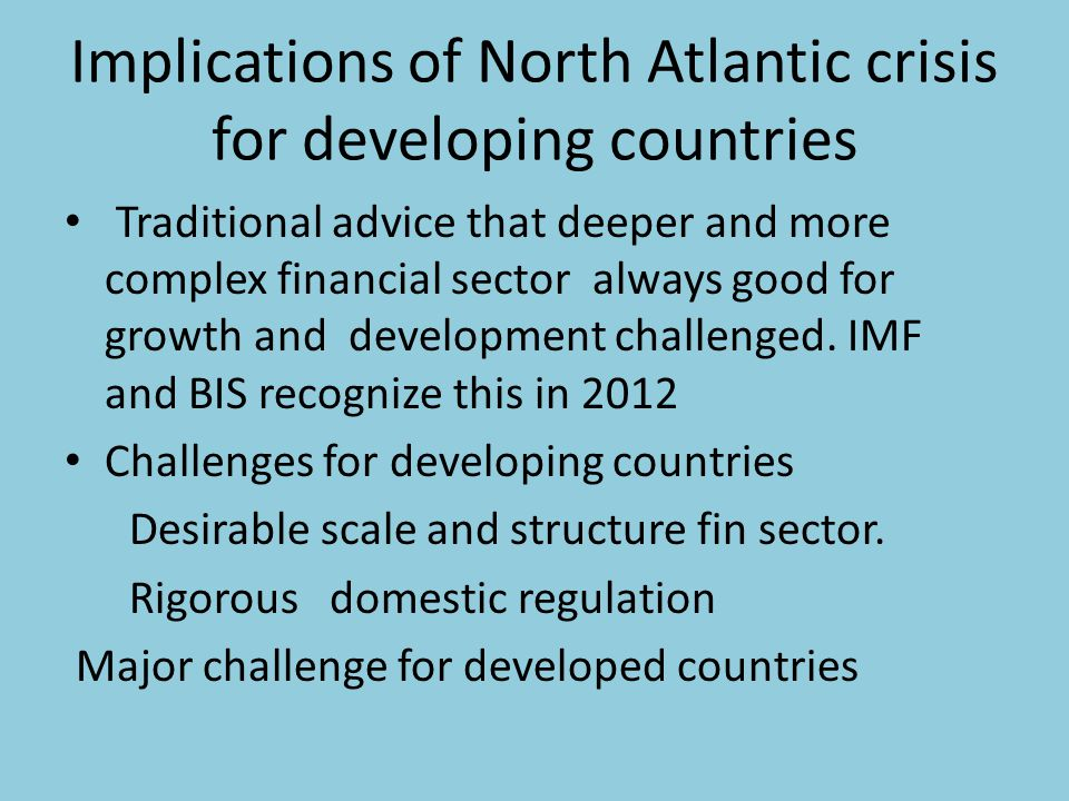 Role for public development banks Where markets fail, governments need to act Successful public banks, KfW, BNDES, EIB major support for growth Do major counter-cyclical lending in crises Fund SMEs, infrastructure, green economy Can finance development strategy British Investment Bank very desirale Can leverage public resources