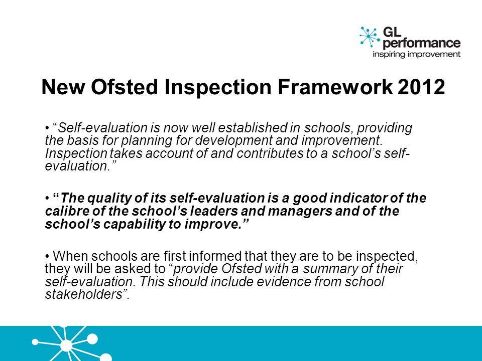 If Ofsted walked in tomorrow…… could you say where you are up to on each action in the plan which are completed …in progress…and or… overdue…… and why.