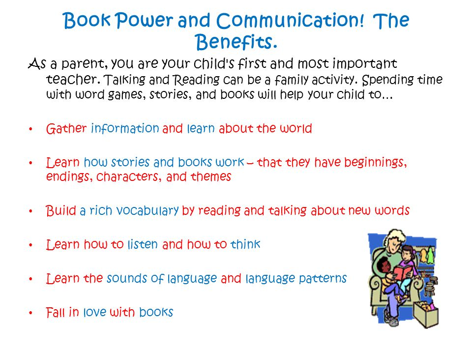 To summarise...Talk and Chat Talking about the books you read is just as important as reading them.