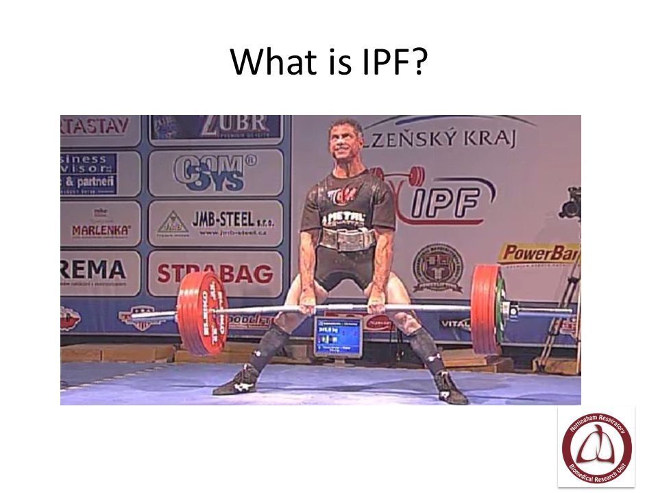 What is IPF?