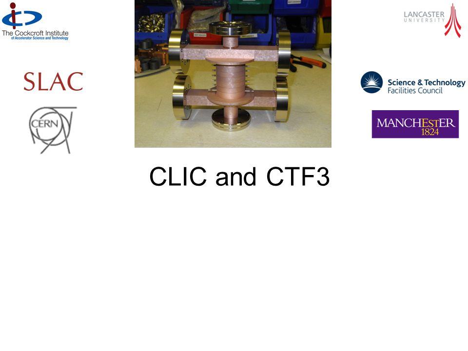 CLIC and CTF3