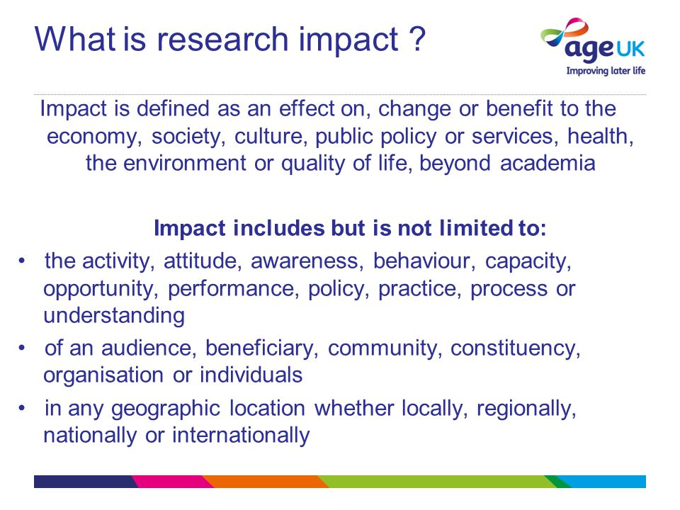 What is research impact .