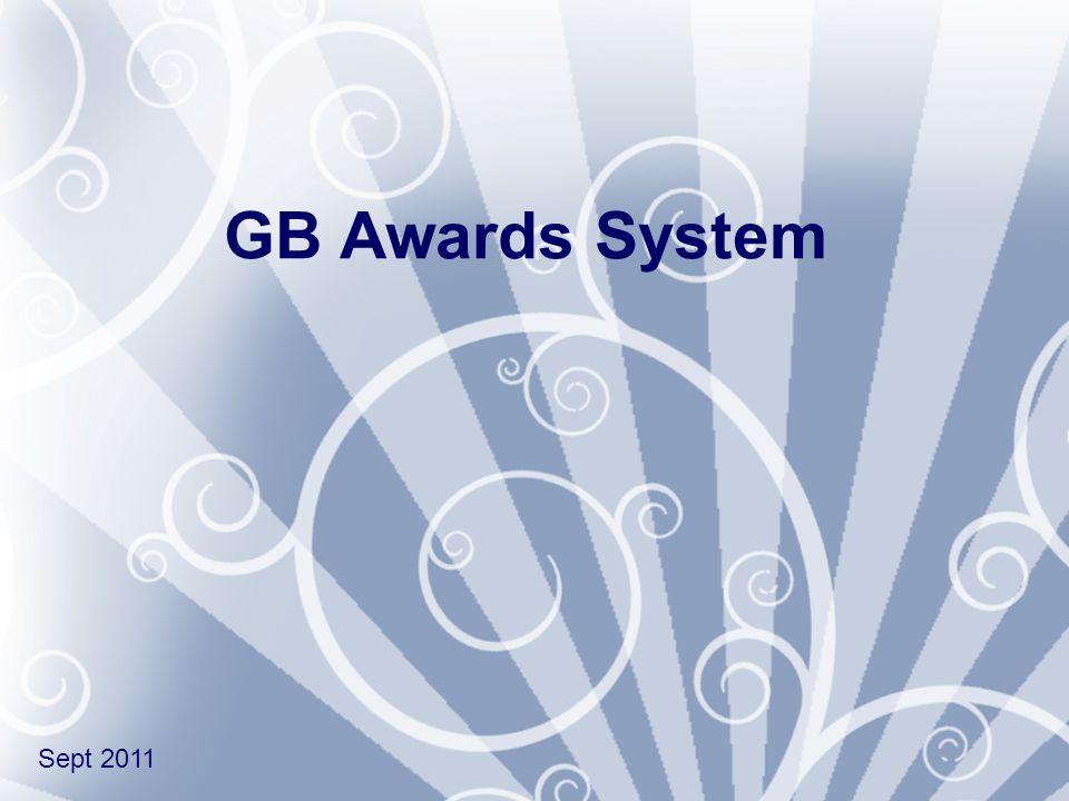 GB Awards System Sept 2011