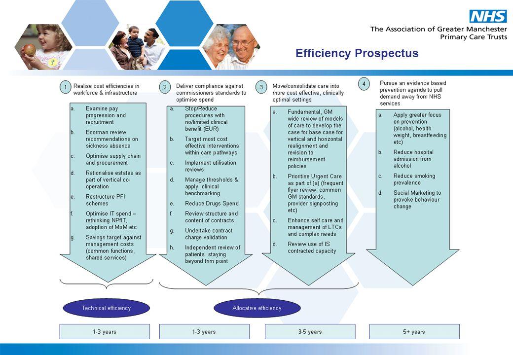 Efficiency Prospectus