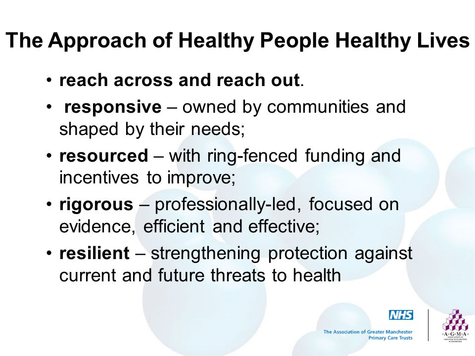 Domain 4: Prevention of Ill Health Nationally, the role of Government (in partnership with business and industry) will be critical.