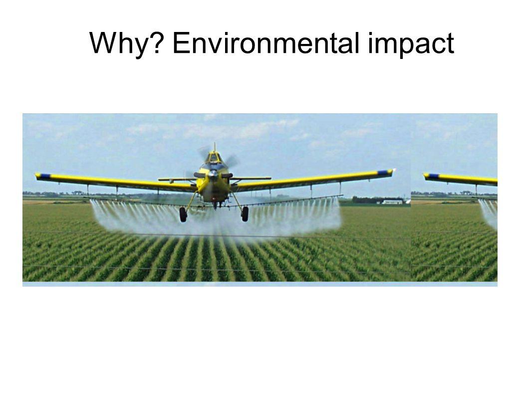 Why Environmental impact
