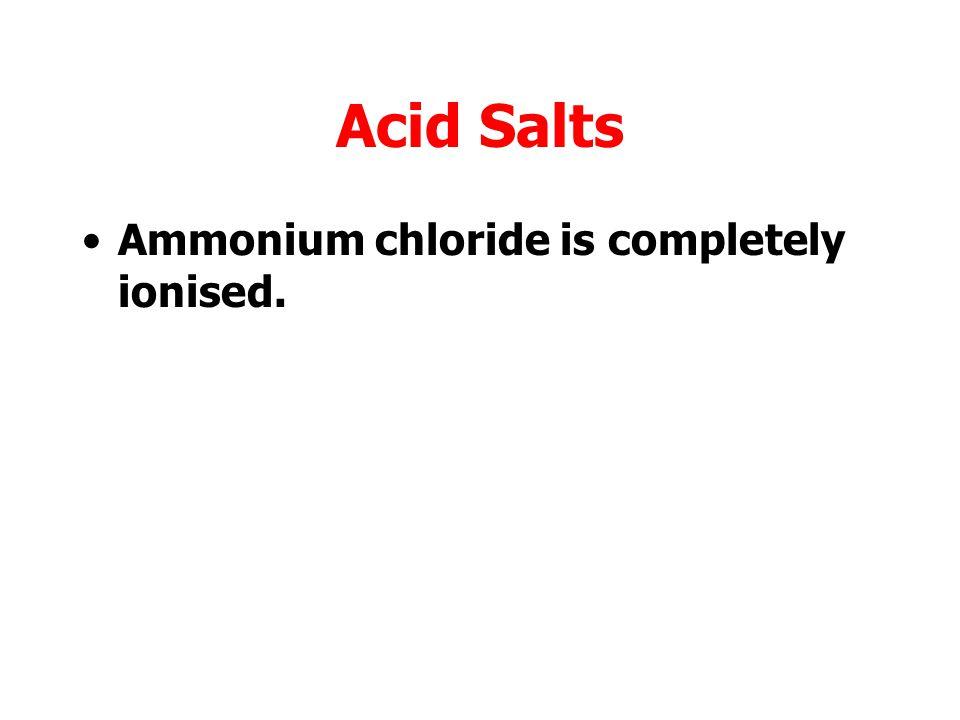 Acid Salts