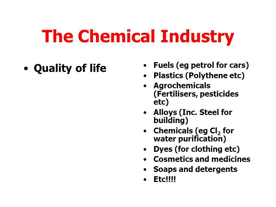 Major contributor to quality of life and economy.