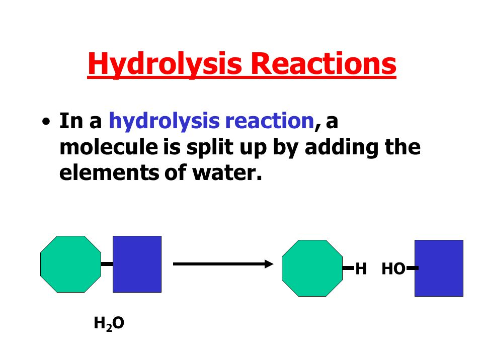 H H O H C C C O H H C C H H H H2OH2O Water is formed from hydrogen of one molecule and hydroxide from the other. The remains of the molecules join tog
