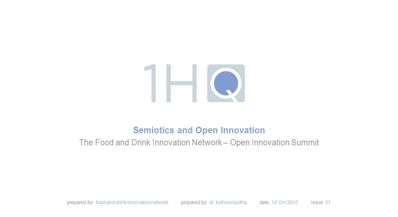 contents Introduction to 1HQ Semiotics.