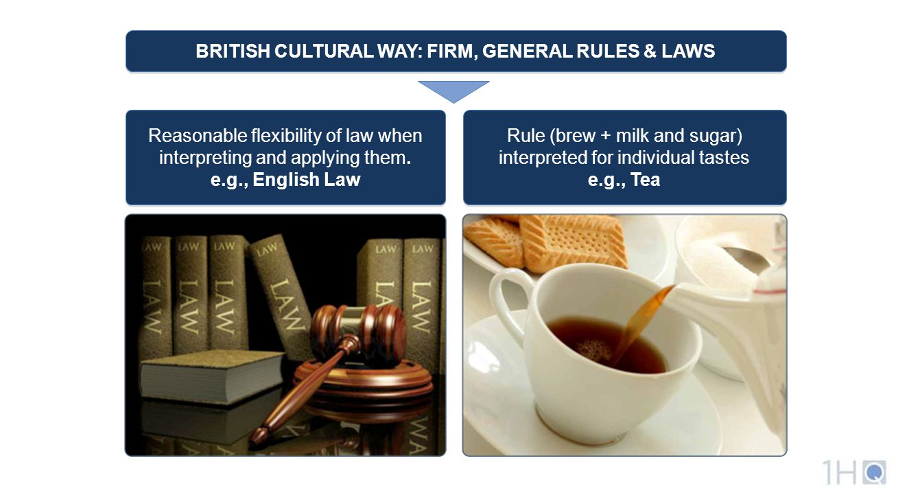 Reasonable flexibility of law when interpreting and applying them.
