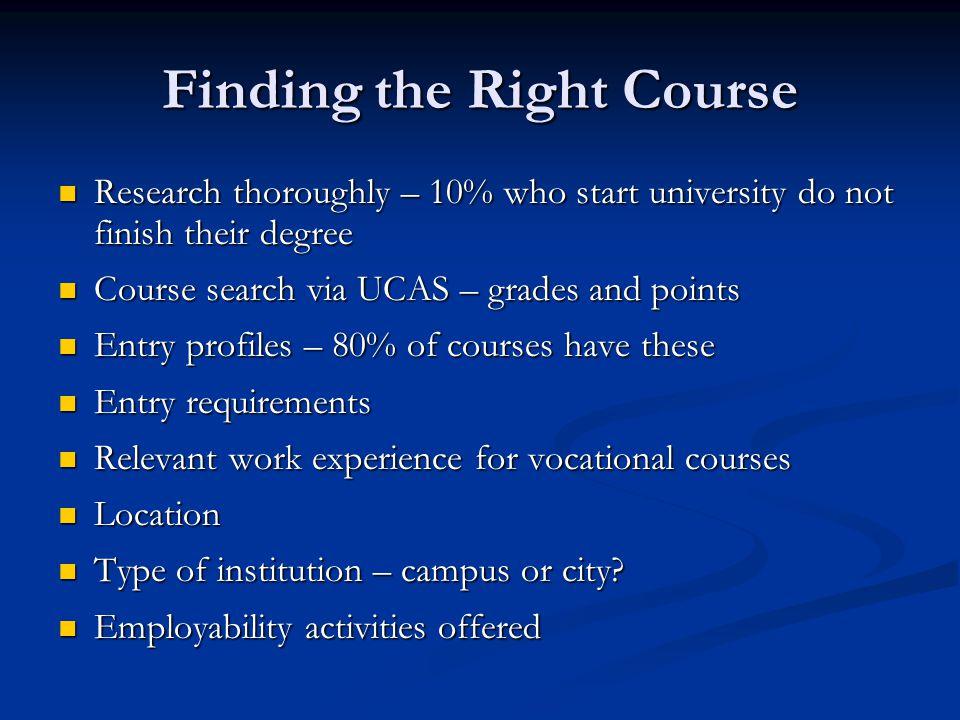 Top Ten Degree Courses 2012 1.Nursing 2. Business Management 3.