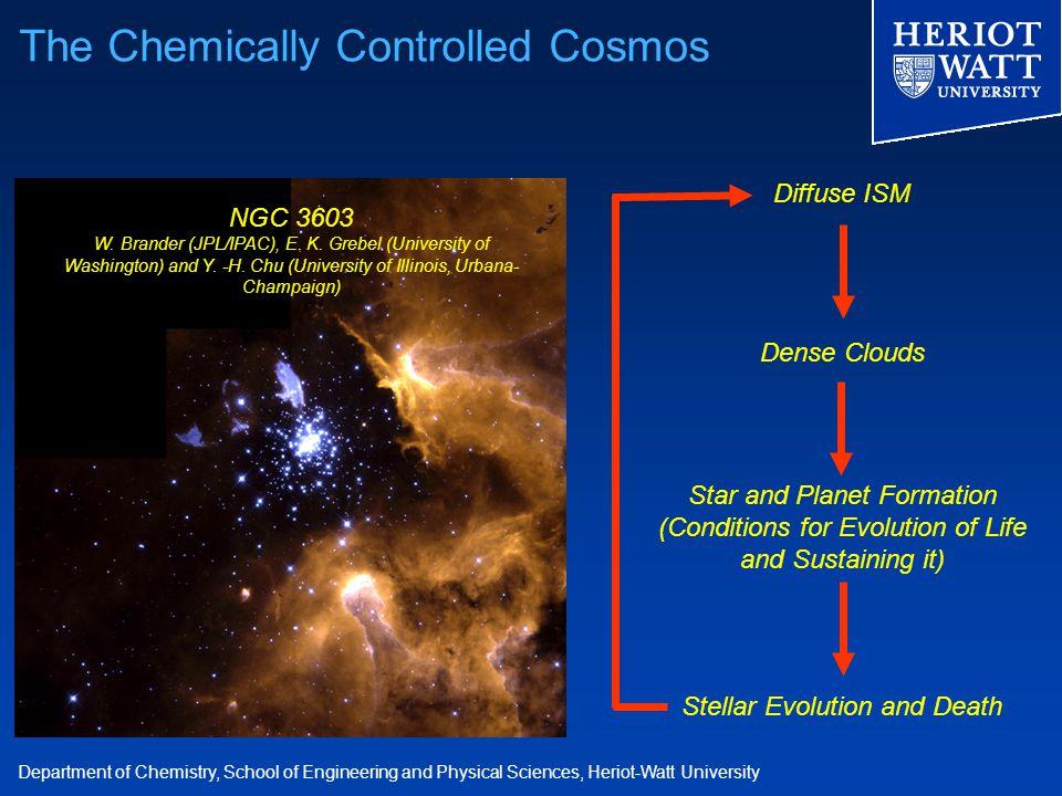 Department of Chemistry, School of Engineering and Physical Sciences, Heriot-Watt University NGC 3603 W. Brander (JPL/IPAC), E. K. Grebel (University