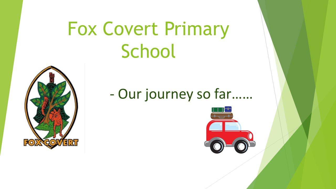Fox Covert Primary School - Our journey so far……