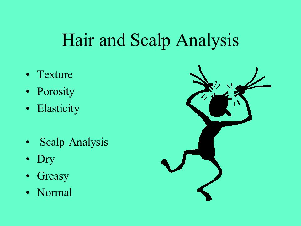 Hair and Scalp Analysis Texture Porosity Elasticity Scalp Analysis Dry Greasy Normal