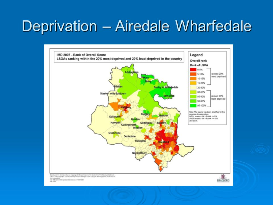 Deprivation – Airedale Wharfedale