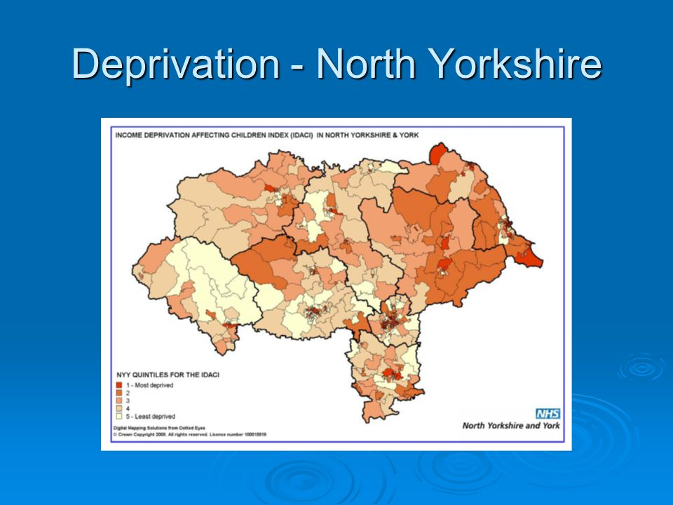 Deprivation - North Yorkshire