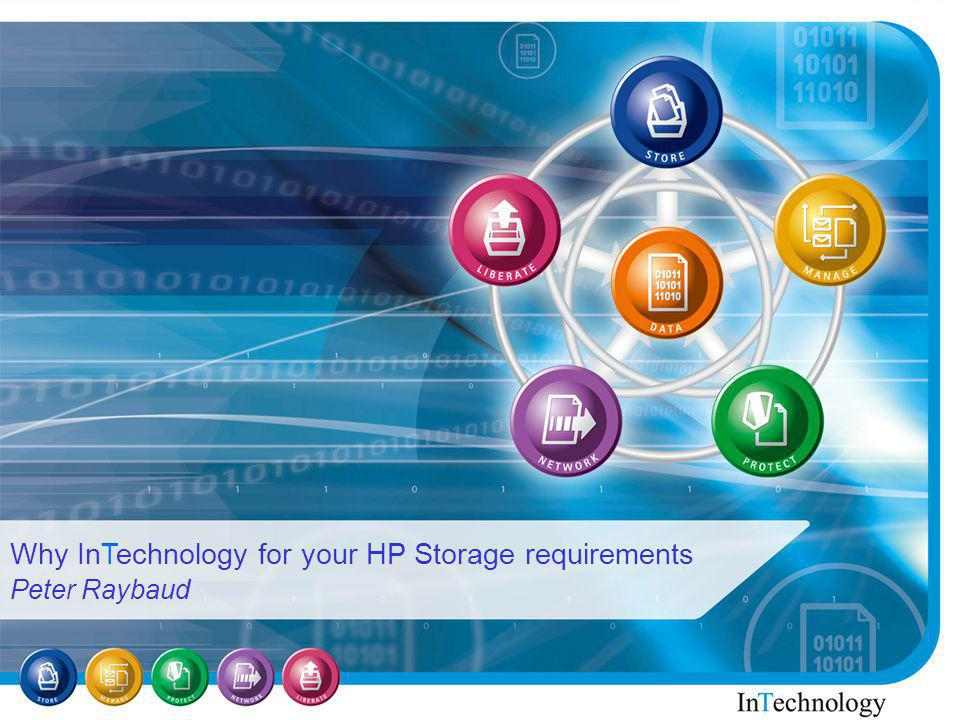 How to book the InTechnology Demo Suite Making selling HP Storage easier..