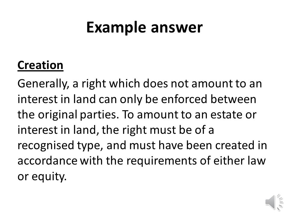 Priority of interests (unregistered title) Priority on the sale or mortgage of and estate with unregistered title depends on whether the interest is a land charge, and if not, on whether it is legal or equitable.