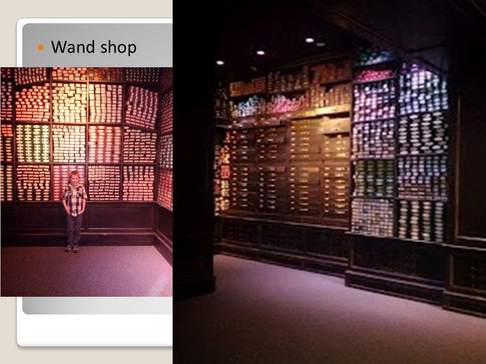 Wand shop