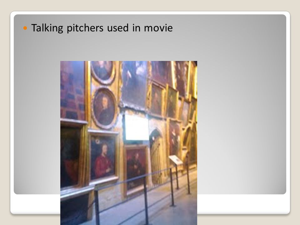 Talking pitchers used in movie
