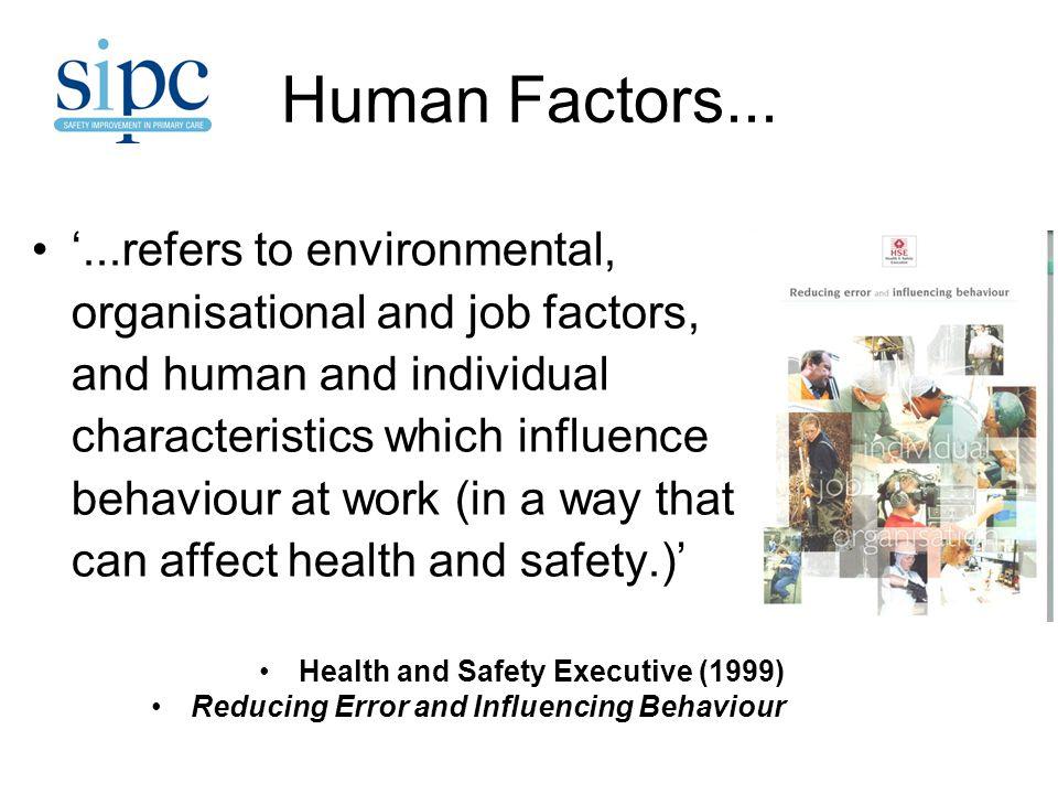 Human Factors...