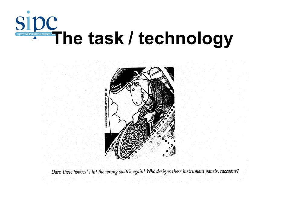 The task / technology