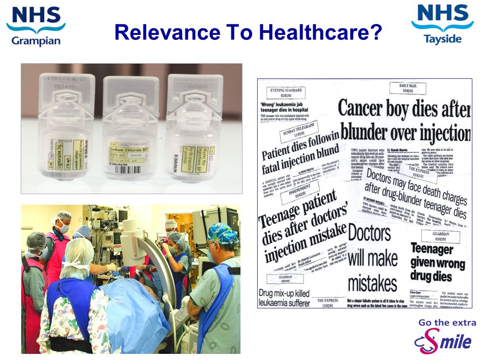 Relevance To Healthcare