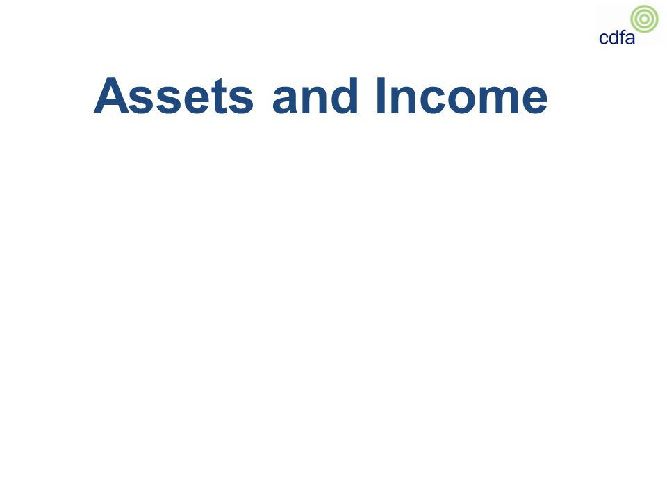 Assets and Income