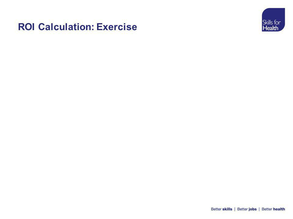 ROI Calculation: Exercise